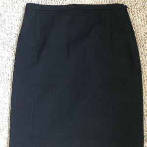 Express Design Studio Pinstripe Skirt